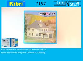 S7157 KIBRI Spur N Modellbausatz Handwerkerhaus