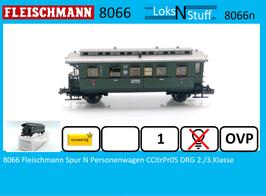 8066 Fleischmann Spur N Personenwagen CCitrPr05 DRG 2./3.Klasse