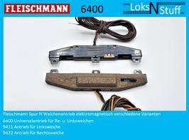 Fleischmann Weichenantrieb verschiedene Varianten