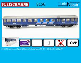 8156 Fleischmann Spur N Nahverkehrswagen NS B 11 GROLSCH NS Ep.IV