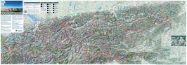 Talwindkarte Alu-Dibond-Platte