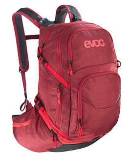 EVOC EXPLORER PRO •  26 L • HEATHER/RUBY