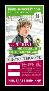 Ticket Samstag