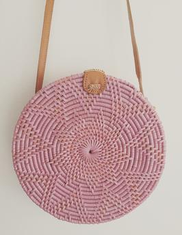 Pink roundiebag