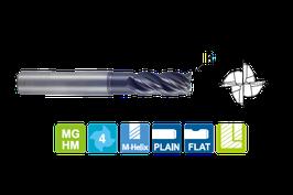 3.0 - 5.0mm HPC Frees 4-Snijder Hoek Radius
