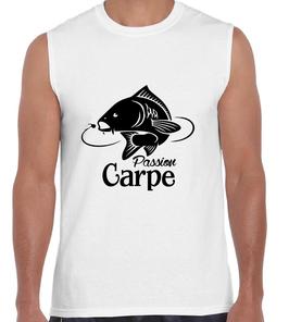 T-shirt débardeur pêcheur de carpe