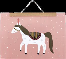 Poster Zirkuspferd, DIN A3
