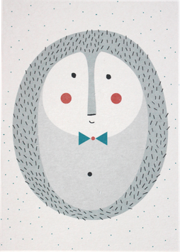 Postkarte Igel (ohne Text)