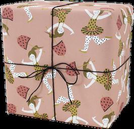 Geschenkpapier Zirkusmädchen(3 Bogen)