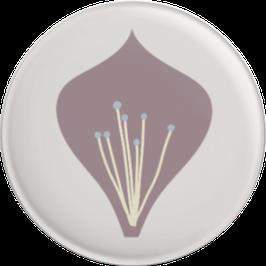 Magnet Einzelblüte, flieder (32 mm)
