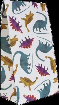 Geschenkpapier-Tüten Dinos (Set mit 6 Stück)