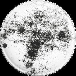 Magnet Marmor s/w (mittig schwarz) (32 mm)