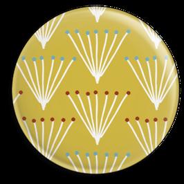 Magnet Strauss, gelb (32 mm)