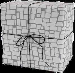Geschenkpapier Burgmauer (3 Bogen)