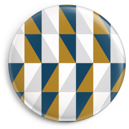 Magnet Squares blau/ocker (32 mm)
