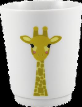 """Porzellanbecher """"Giraffe"""""""