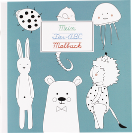 "Malbuch ""ABC der Tiere"""