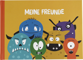 Freundebuch Monster (Hardcover)