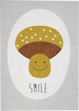 "Postkarte ""smile"""