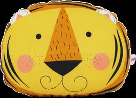 "Mini-Tierkissen ""Tiger"", gelb"