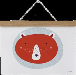 Poster Bär, A4