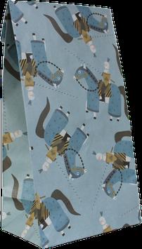 Geschenkpapier-Tüten Ritter (Set mit 6 Stück)