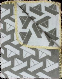 Kinder-Baumwolldecke Schiffchen, taupe (100x140 cm) - GOTS Standard