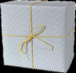 Geschenkpapier ZZZ blau (3 Bogen)