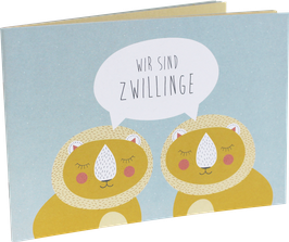 """""""Wir sind Zwillinge"""" Büchlein"""