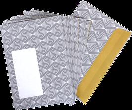 Briefumschläge Lampions (Set mit 10 Umschlägen)