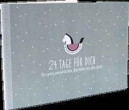 """""""24 Tage für Dich"""" Adventskalenderbüchlein, Schaukelpferd"""