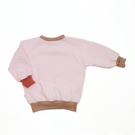 Pullover // BALLOON TRIPPLE ROSE