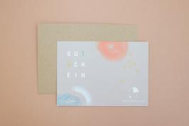 Gutschein // KARTE mit Umschlag