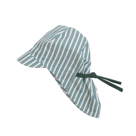 Summer hat // STRIPES GREEN