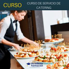 OFERTA! Curso Online de Servicio de Catering + Titulación Certificada
