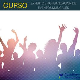 OFERTA! Curso de Organización de Eventos Musicales + Titulación Certificada