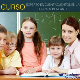 OFERTA! Curso Experto en Cuentacuentos en la Educación Infantil + Titulación Certificada