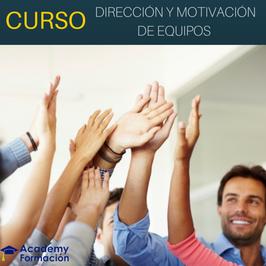 OFERTA! Curso de Dirección y Motivación de Equipos + Titulación Certificada