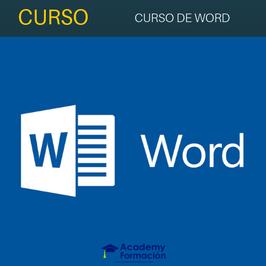 Curso de Word 2016 Online + Titulación Certificada