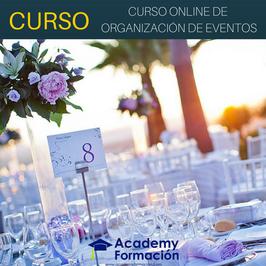OFERTA! Curso de Organización de Eventos + Titulación Certificada