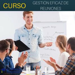 OFERTA! Curso de Gestión Eficaz de Reuniones + Titulación Certificada