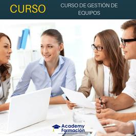 OFERTA! Curso Online de Gestión de Equipos de Trabajo + Titulación Certificada