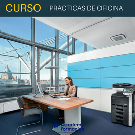 OFERTA! Curso Online de Prácticas de Oficina + Titulación Certificada