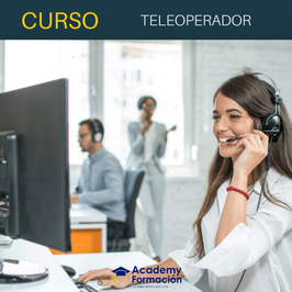 OFERTA! Curso Online de Teleoperador + Titulación Certificada