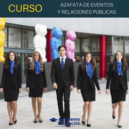 OFERTA! Curso de Azafata/o de Eventos y Relaciones Públicas + Titulación Certificada