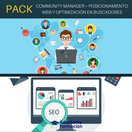 OFERTA! Cursos Online de Community Manager + Posicionamiento Web y Optimización en Buscadores. Titulaciones Incluidas.