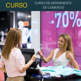 OFERTA! Curso Online de Dependiente de Comercio + Titulación Certificada