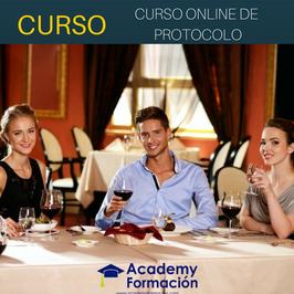 OFERTA! Curso de Protocolo Online + Titulación Certificada
