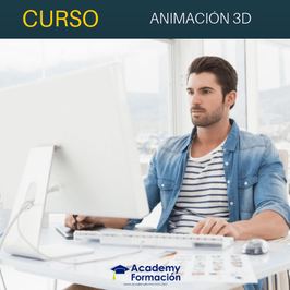 OFERTA! Curso Online de Animación 3D + Titulación Certificada