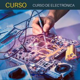 OFERTA! Curso Online de Electrónica - Mantenimiento y Reparación + Certificado Incluido